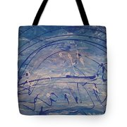 The Clouds,  The Ocean,  The Bridge  Tote Bag