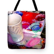 Mug And Palatte Tote Bag