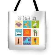 The Coast Life Tote Bag