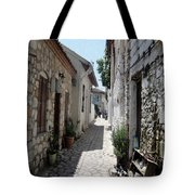 The Cobbled Back Streets Surrounding Old Marmaris Tote Bag