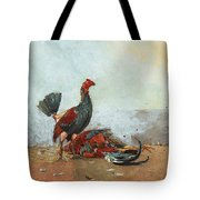 The Cock Fight Tote Bag