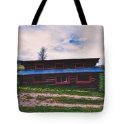 The Cockeyed Cabin Tote Bag