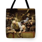 The Cockfight Tote Bag