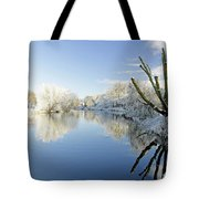 The Cold River Tote Bag