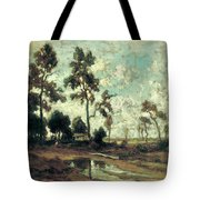 The Colliers' Hut In The Forest Of Fontainebleau Tote Bag