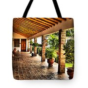 The Colonial House Tote Bag