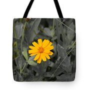 The Color Of  A Unike Flower Tote Bag