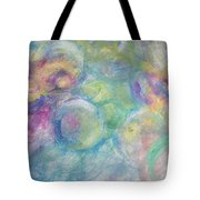 The Color Of Bubbles Tote Bag