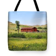 The Color Of Montana Tote Bag