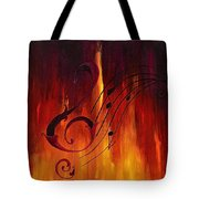 The Color Of Music Tote Bag