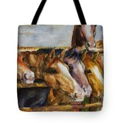 The Colorado Horse Rescue Tote Bag