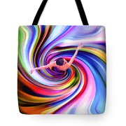 The Colorful Ballet Dress Tote Bag