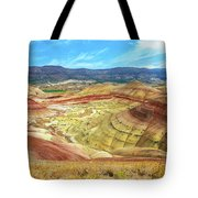 The Colorful Painted Hills In Eastern Oregon Tote Bag