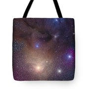 The Colorful Region Around Antares Tote Bag