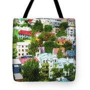 The Colors Of Reykjavik Tote Bag