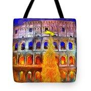 The Colosseum And Christmas  - Van Gogh Style -  - Da Tote Bag