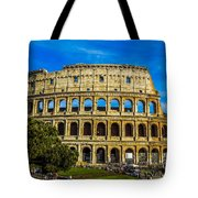 The Colosseum In Rome Italy Tote Bag