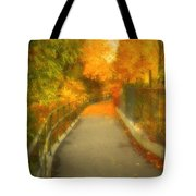 The Colour Around The Corner Tote Bag