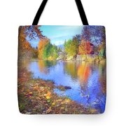 The Colours Of October Tote Bag