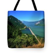 The Columbia Gorge National Scenic Area Tote Bag