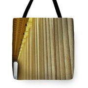 The Columns At The Parthenon In Nashville Tennessee Tote Bag