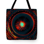 The Combustion Of Passion Tote Bag