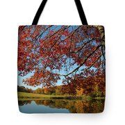 The Comfort Of Autumn Tote Bag