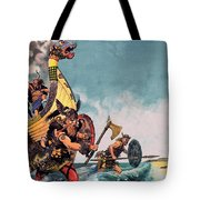 The Coming Of The Vikings Tote Bag