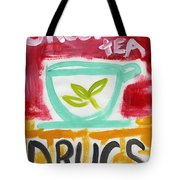 The Common Cure- Abstract Expressionist Art Tote Bag