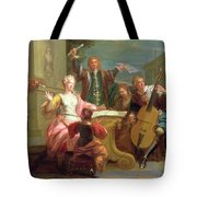 The Concert  Tote Bag by Etienne Jeaurat