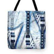 The Concorde Blueprint Tote Bag