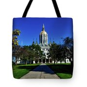The Connecticut State Capitol Tote Bag