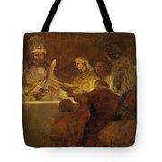 The Conspiracy Of The Batavians Under Claudius Civilis Tote Bag