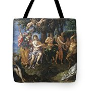 The Contest Between Apollo And Pan, 1600 Tote Bag