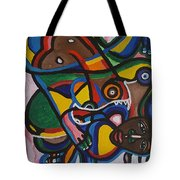 The Contortionist  Tote Bag