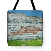 The Cool Coast Camp Tote Bag