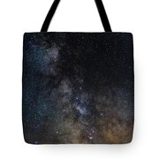 The Core Of The Milky Way Tote Bag