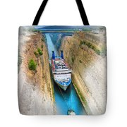 The Corinth Canal  Tote Bag