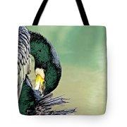 The Cormorant Tote Bag by Marla Craven