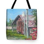 The Corn Crib Tote Bag