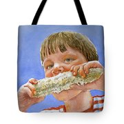 Andrew The Corn Eater Tote Bag