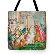 The Coronation Of Esther Tote Bag