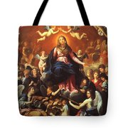 The Coronation Of The Virgin 1626 Tote Bag