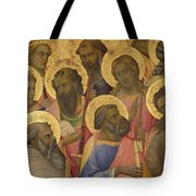 The Coronation Of The Virgin Tote Bag by Lorenzo Monaco