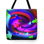 The Cosmic Bunnies Tote Bag