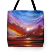 The Cosmic Storm II Tote Bag