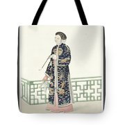 The Costume Of China Tote Bag