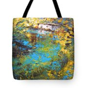 The Cottage By The Lagoon Tote Bag