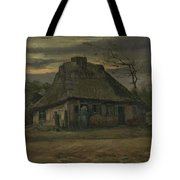 The Cottage Nuenen, May 1885 Vincent Van Gogh 1853  1890  Tote Bag