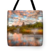 The Cotton Candy Sky Tote Bag